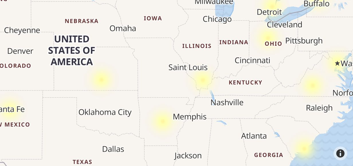 Verizon Wireless Outage in Arkansas - Outage.Report