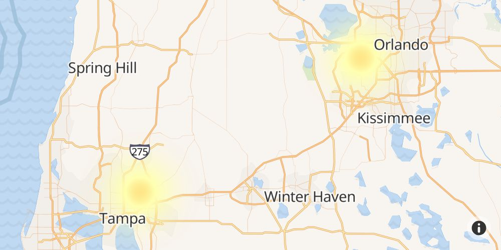 Cox Outage in Ocala, Marion County, Florida - Outage Report
