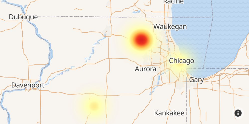 Mediacom Outage in Davenport, Scott County, Iowa - Outage Report