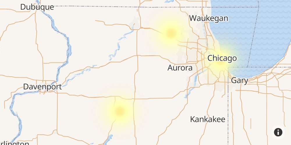 Mediacom Outage in Moline, Rock Island County, Illinois