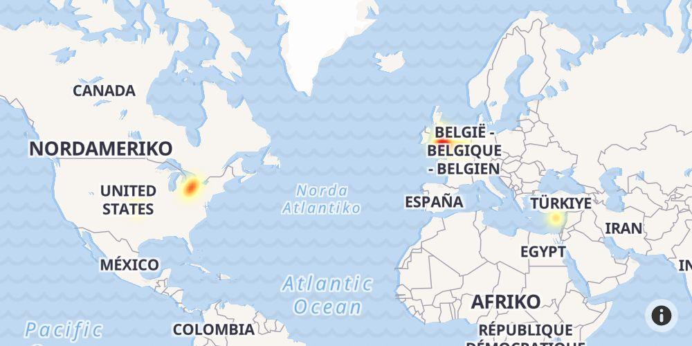 Google Maps ausgefallen und außer Funktion. Aktueller Status ...